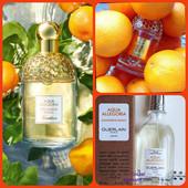 Антидепрессант + аромат вдохновение! 67мл!!!Guerlain Aqua Allegoria Mandarine Basilic!фото1внизу,4,5