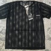 Распродажа! Спортивная футболка - сетка для мальчика,Sport размер L, описание )