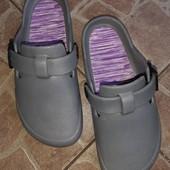 Кроксы, стелька 22 см