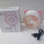 Портативный ручной вентилятор