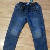 ▶▶▶Теплые джинсы на х/б подкладке 116р◀◀◀уп 15%, нп 5% скидка!