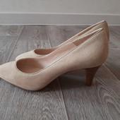 Туфли Minelli, 35 размер, натуральный замш. Сток.