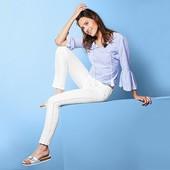 Женские Slimfit джинсы с лампасами по бокам от Tchibo(Германия), размер 50-52 (46 евро)