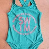 ♡ Фирменный купальник для девочки SPF 50 +от Marks&Spenser, 7-8 лет (128 р)