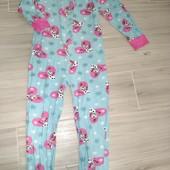 Слип пижама хлопок 5лет замеры на фото
