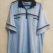Мужская футболка нежно голубого цвета