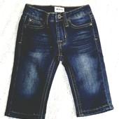 Темно синие эластичные стрейчевые джинсы джеггинсы на 6 месяцев