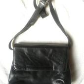 Женская кожаная итальянская сумка крос боди MP Италия