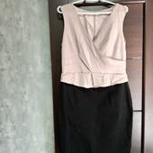 Фирменное красивое платье в отличном состоянии р.14-16
