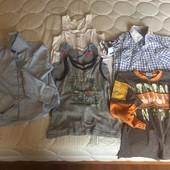 Комплект одягу на хлопчика 4,5-6 років
