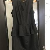 Чорне плаття /чорное платье 44р