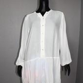 Качество! Натуральная блуза/рубашка от бренда H&M в новом состоянии