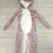 Плюшевый слип оленёнок на 3года замеры на фото
