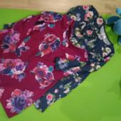 Два фирменных платья в идеале. Трикотаж отличного качества. На 5-6 лет.