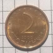 Монета Болгарии 2 стотинки 2000