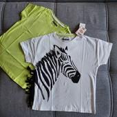Блиц-цена! Набор футболок на 5-6 лет рост 110-116! из Польши! качество премиум! хлопок!