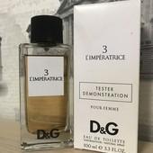 тестер) насичений Dolce&Gabbana Anthology L`Imperatrice 3 100мл