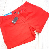 Катоновые шорты в ярко красном цвете 40 euro, Esmara, германия