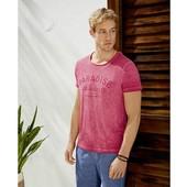 мужская футболка хлопок с принтом livergy германия р. S 44-46