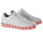женские кроссовки LED Esmara германия р. 39 - 25,5 см, со светящейся подошвой