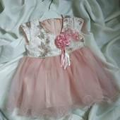♥️Красивенное праздничное платье на малышку♥️
