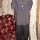 Женский брючный костюм р. 56