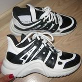 Очень стильные и удобные кроссовки, в стиле louis vuitton - 36,37,38,39