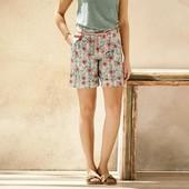 Очаровательные повседневные шорты из льна от Esmara. Размер 38