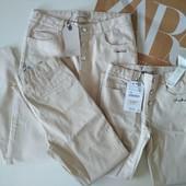 Хлопковые брюки Zara