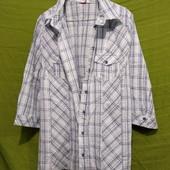Фирменная рубашка_оригинал_Германия! Состояние новой_пог 60 см