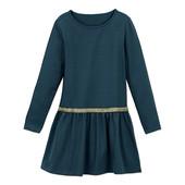 ☘ Якісне тепле плаття з декоративною блискучою стрічкою від Tchibo (Німеччина), рр .: 170/176