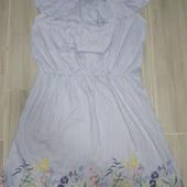 H&M Красивое лёгкое платье на девочку 10-12лет замеры на фото