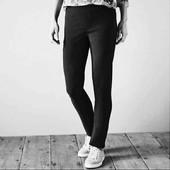 esmara черные стрейчевые брюки евро 38+6