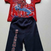 Новый коттоновый суперовый костюм на малыша