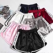 Новинка!Жен.стильные шорты,р.40-48. Шелк Армани,крутая модель,выс.качество!ставьте блиц!❤