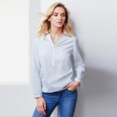 Классическая нежная блуза, наши р.: 52-54 (46 евро)