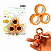Магнитные кольца антистресс игрушка 8+
