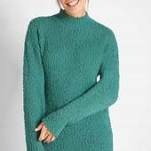Мягкий, уютный, качественный свитер. р-р: 44/46. новый. описание