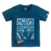 Стильная футболка с принтом Хищник от Cool club by Smyk, размер 116 см