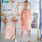 Нарядное платье lupilu и колготки,р86/92,на 1-3года