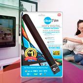 ✅ Цифровая комнатная ТВ антенна full hd 1080, антенна для Т2 телевизионная HD