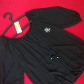 Блузка F&F Black размер M-L ( замеры по ссылке)