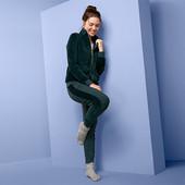 ☘ Затишний велюровий костюм на блискавці від Tchibo (Німеччина), розміри наші: 50-52(44/46 євро)