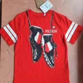 ♡ Яркая футболка для мальчика от C&A, р. 116, 122, 158/164