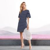 Шикарное летнее платье Джерси с воланами от Tchibo(Германия),размеры наши: 50-54 (44/46 евро)