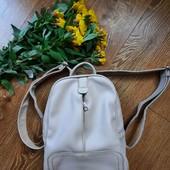 Ніжний рюкзак, зам шкіри ✔️