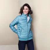☘ Легка стьобана куртка від Tchibo (Німеччина), наші розміри: 46-48 (40 євро)