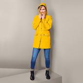 ☘ Жіночий вітрозахисний непромокальний жовтий плащ Tchibo (Німеччина), р.наш: 54-56 (48 євро)