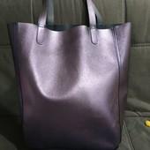 Большая сумка шоппер или как пляжная Pull&Bear двухстороняя, покупала в Испании