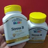 комплекс витаминов группы В, анти стресс, 21st Century, Америка